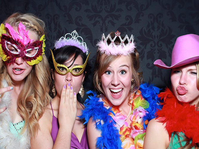 high school prom photo booth rental Colorado